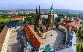 Пражский Град в столице Чехии