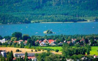 Отдых на озерах в Чехии