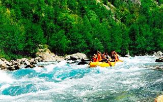 Рафтинг — сплав по горным рекам
