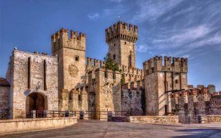 Популярные замки Италии