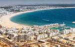 Отдых на пляже в Марокко