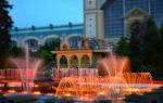 Поющий фонтан в Праге