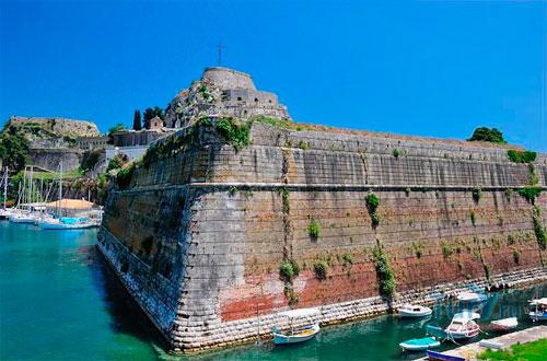 Старый форт Керкиры