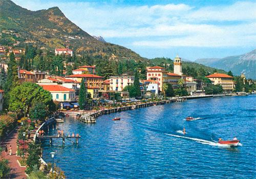 Гардоне Ривьера на озере Гарда