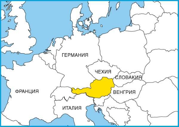 Австрия в Европе