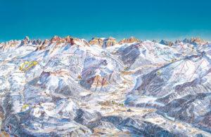 горнолыжные трассы на Валь ди Фьемме