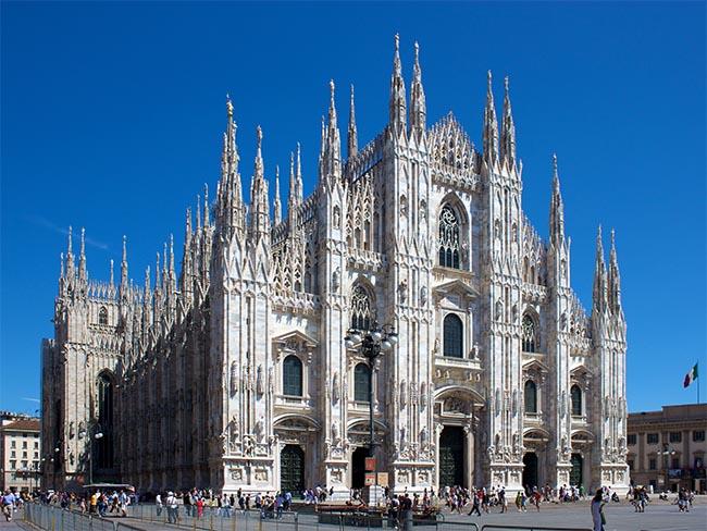 внешний вид Дуомо ди Милано