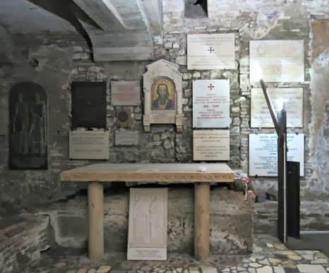 Место захоронения святого Кирилла